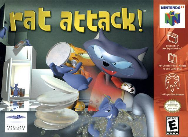 Rat Attack! - Nintendo 64