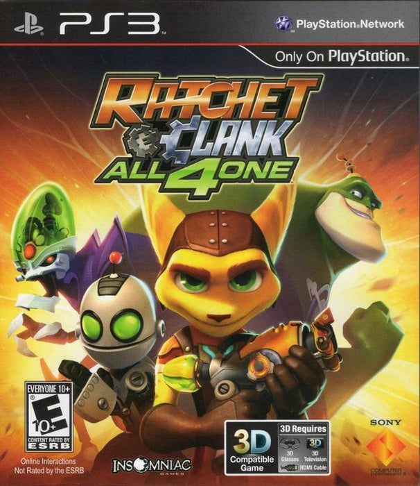 Ratchet & Clank All 4 One - PlayStation 3