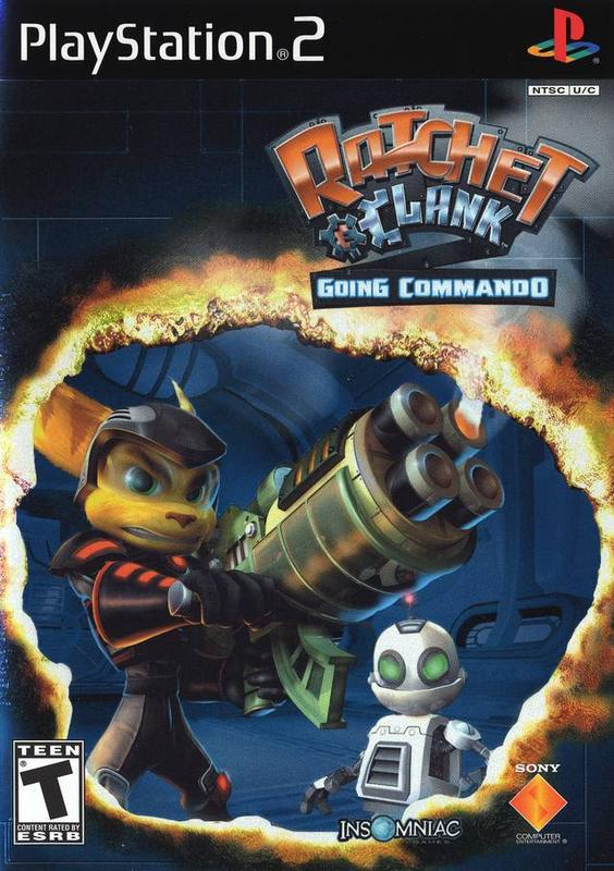 Ratchet & Clank Going Commando - PlayStation 2