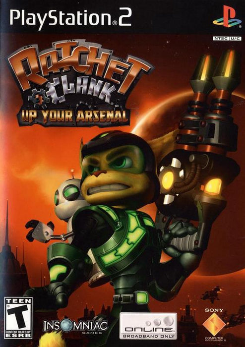 Ratchet & Clank Up Your Arsenal - PlayStation 2