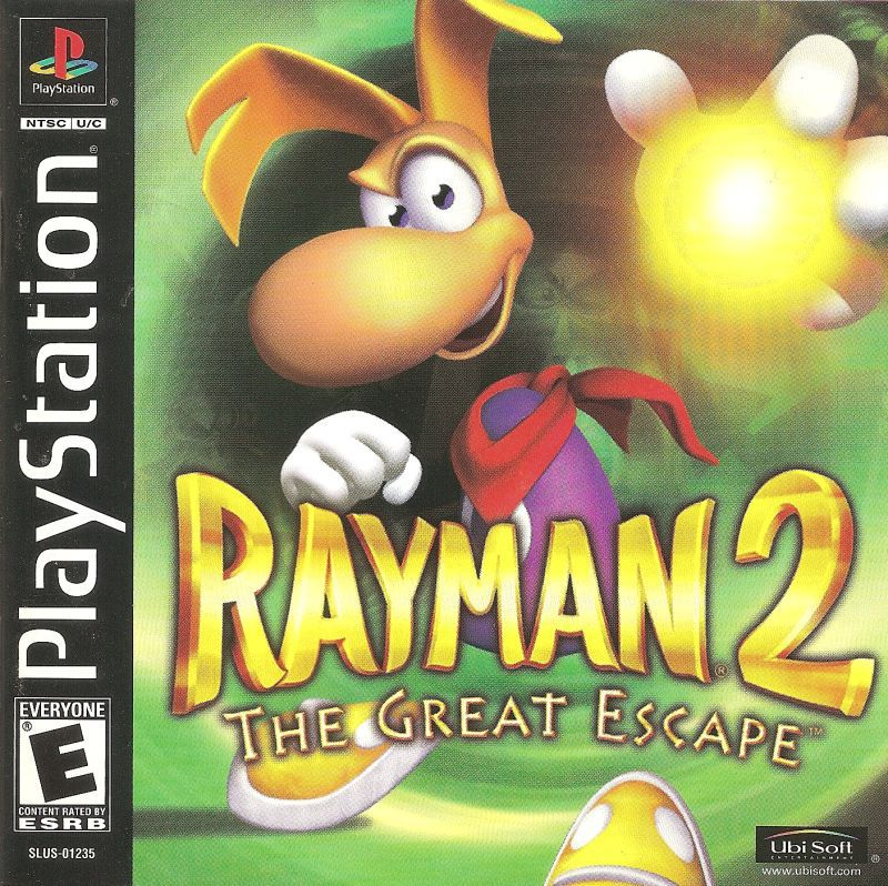 Rayman 2 The Great Escape - PlayStation 1