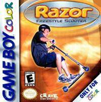 Razor Freestyle Scooter - Game Boy Color