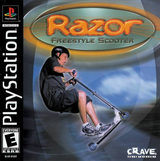 Razor Freestyle Scooter - PlayStation 1