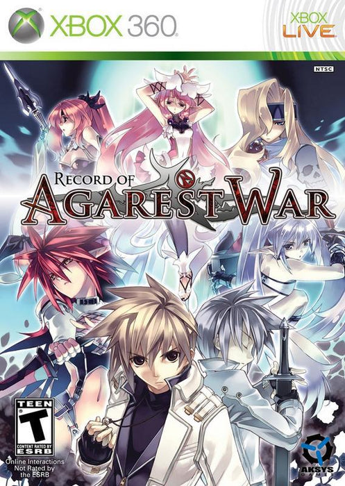 Record of Agarest War - Xbox 360