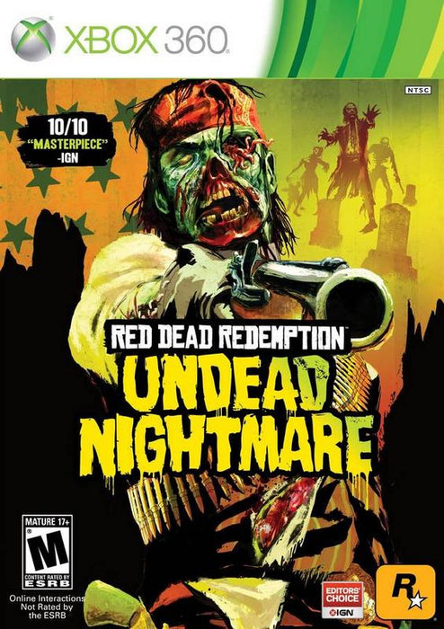 Red Dead Redemption Undead Nightmare - Xbox 360