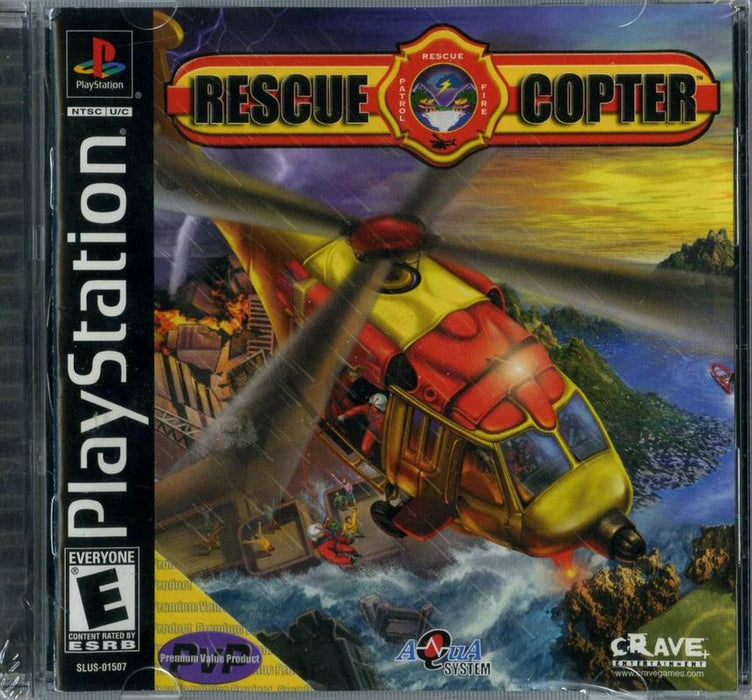 Rescue Copter - PlayStation 1