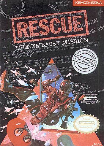 Rescue The Embassy Mission - Nintendo Entertainment System