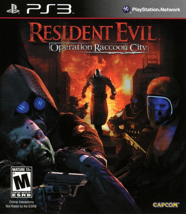 Resident Evil Operation Raccoon City - PlayStation 3
