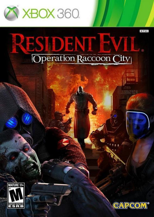 Resident Evil Operation Raccoon City - Xbox 360