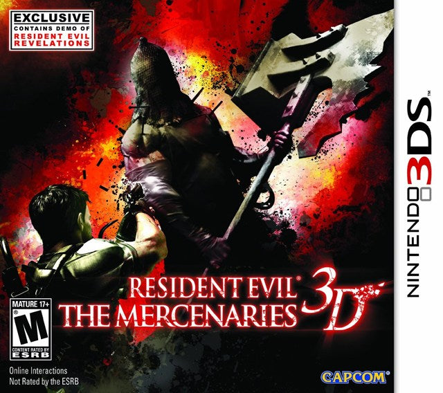 Resident Evil The Mercenaries 3D - Nintendo 3DS