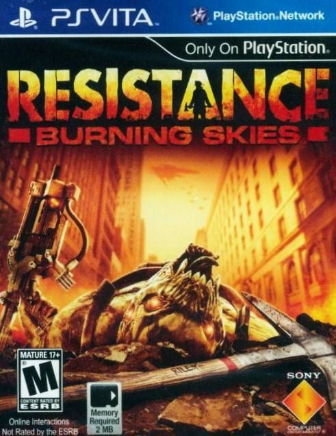 Resistance Burning Skies - PlayStation Vita