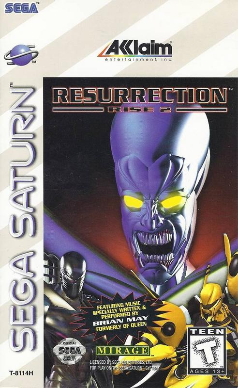 Resurrection Rise 2 - Sega Saturn