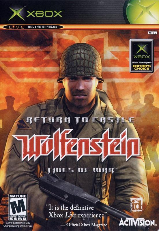 Return to Castle Wolfenstein Tides of War - Xbox