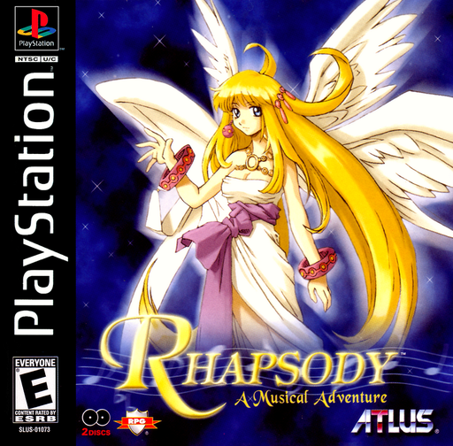 Rhapsody A Musical Adventure - PlayStation 1