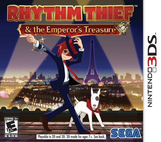 Rhythm Thief & the Emperors Treasure - Nintendo 3DS