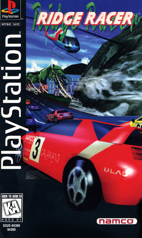 Ridge Racer - PlayStation 1