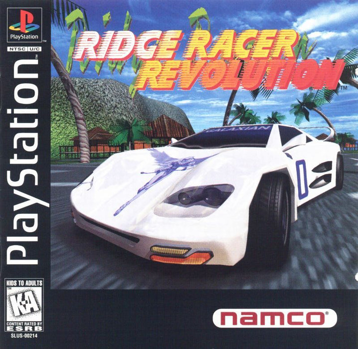 Ridge Racer Revolution - PlayStation 1