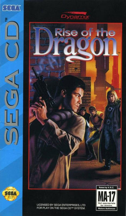 Rise of the Dragon - Sega CD