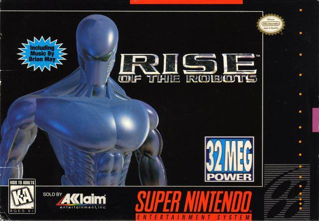 Rise of the Robots - Super Nintendo Entertainment System