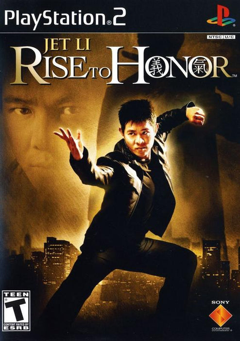 Jet Li Rise to Honor - PlayStation 2