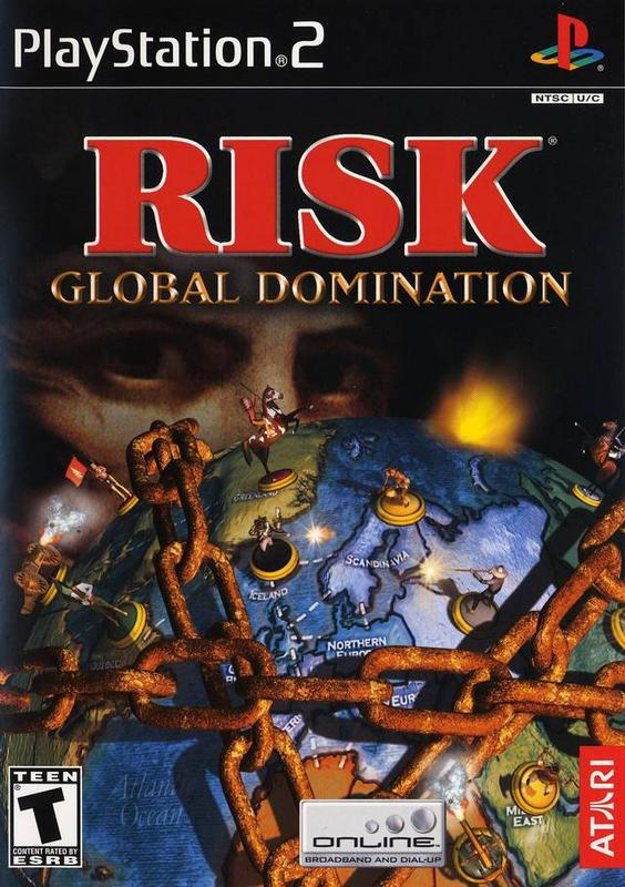 Risk Global Domination - PlayStation 2