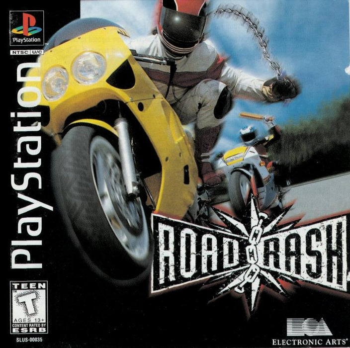 Road Rash - PlayStation 1