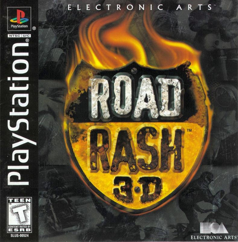 Road Rash 3D - PlayStation 1