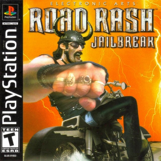 Road Rash Jailbreak - PlayStation 1