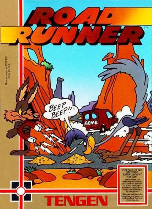 Road Runner - Nintendo Entertainment System
