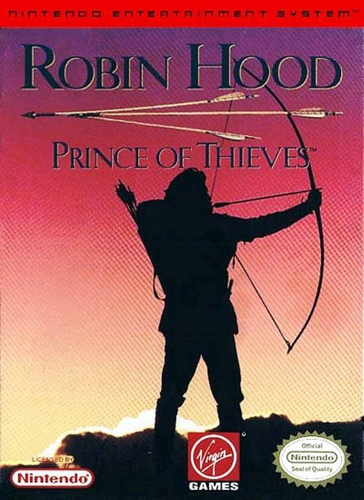 Robin Hood Prince of Thieves - Nintendo Entertainment System