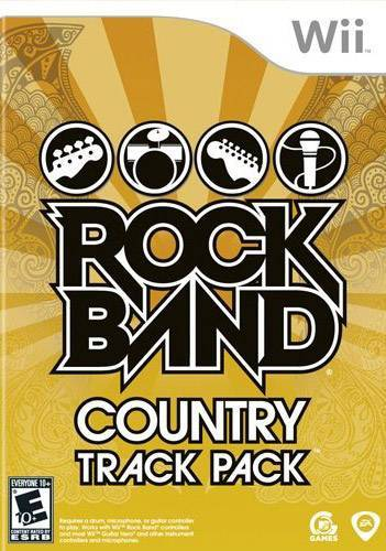 Rock Band Country Track Pack - Wii