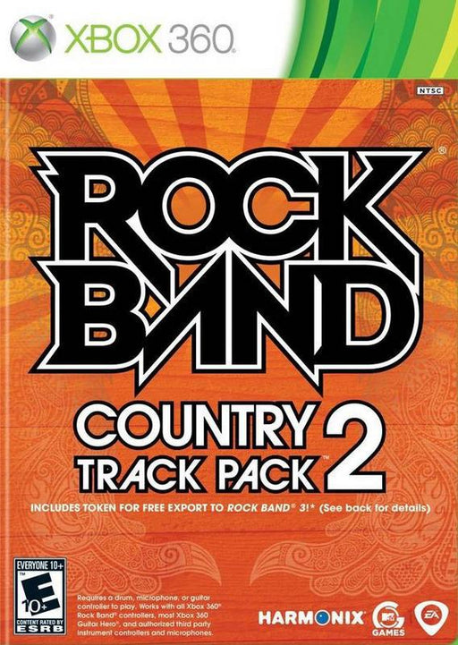 Rock Band Country Track Pack 2 - Xbox 360