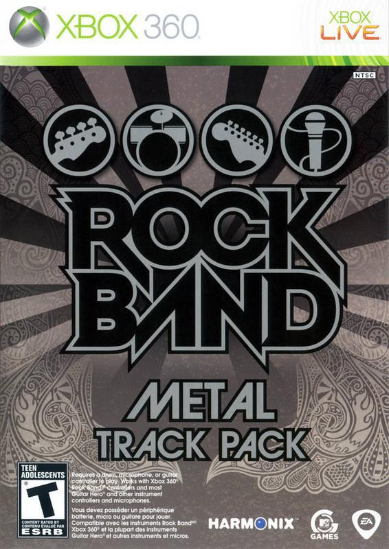 Rock Band Metal Track Pack - Xbox 360