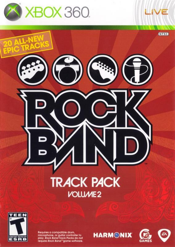Rock Band Track Pack Volume 2 - Xbox 360
