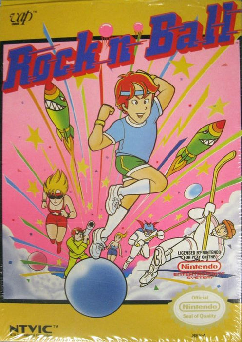 Rockn Ball - Nintendo Entertainment System