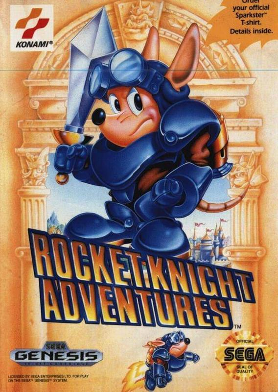 Rocket Knight Adventures - Sega Genesis