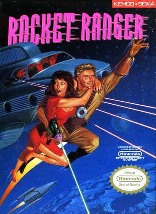 Rocket Ranger - Nintendo Entertainment System