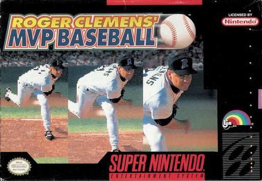Roger Clemens MVP Baseball - Super Nintendo Entertainment System