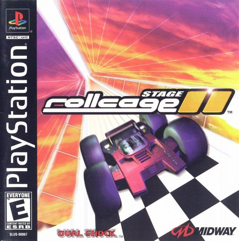 Rollcage Stage II - PlayStation 1