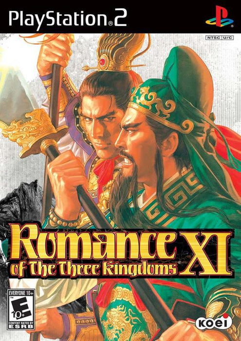 Romance of the Three Kingdoms XI - PlayStation 2