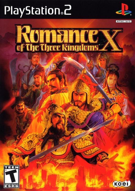 Romance of the Three Kingdoms X - PlayStation 2