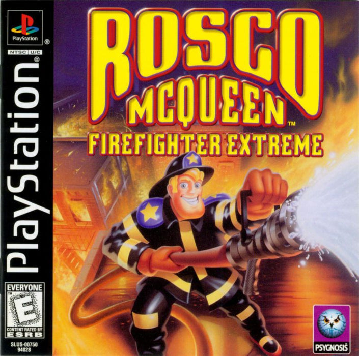 Rosco McQueen Firefighter Extreme - PlayStation 1