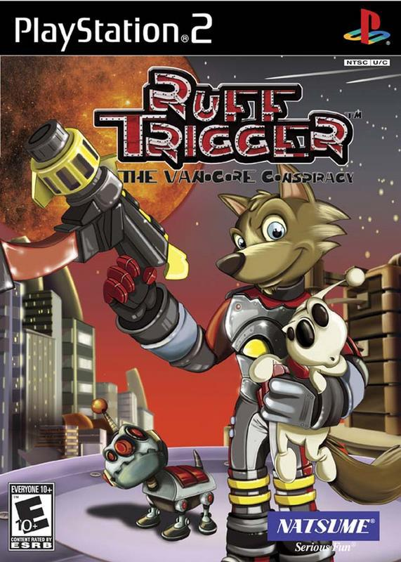 Ruff Trigger The Vanocore Conspiracy - PlayStation 2