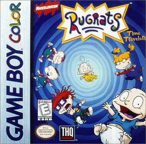 Rugrats Time Travellers - Game Boy Color