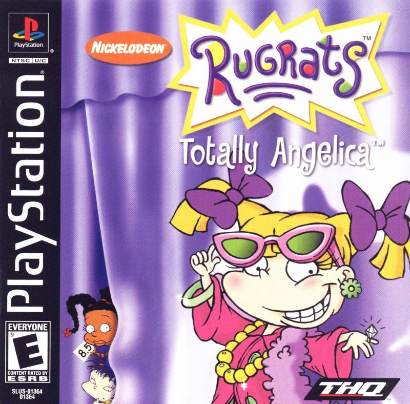 Rugrats Totally Angelica - PlayStation 1