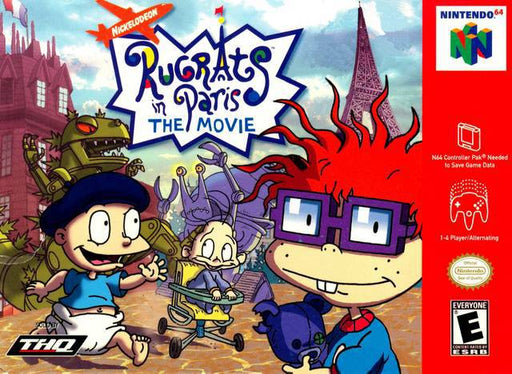 Rugrats in Paris The Movie - Nintendo 64