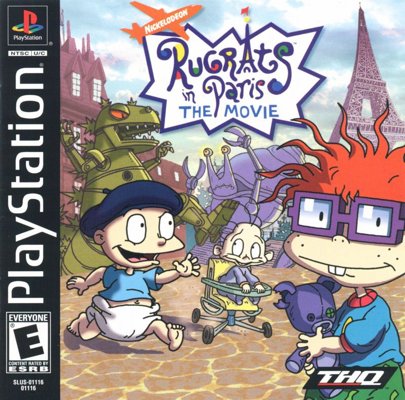 Rugrats in Paris The Movie - PlayStation 1