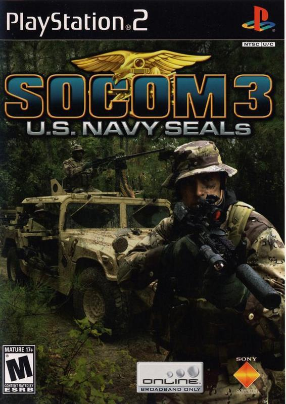 SOCOM 3 U.S. Navy SEALs - PlayStation 2
