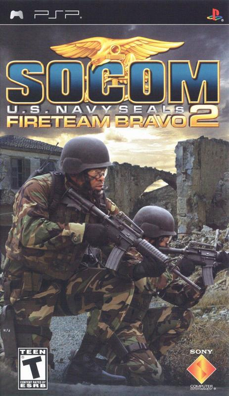 SOCOM U.S. Navy SEALs Fireteam Bravo 2 - PlayStation Portable