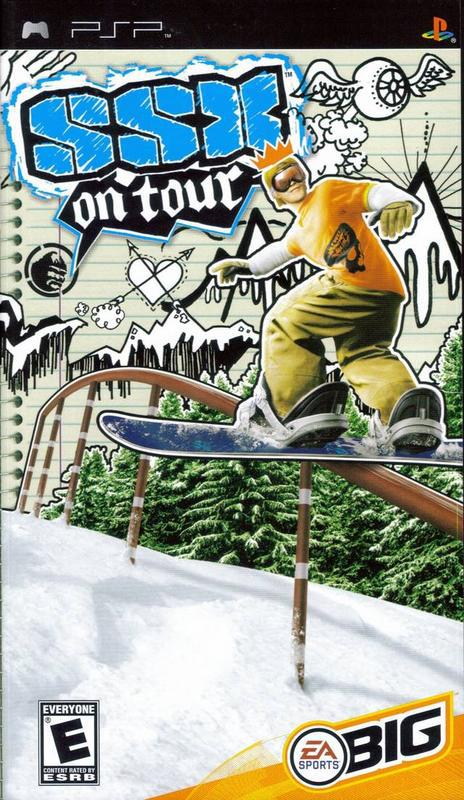SSX on Tour - PlayStation Portable